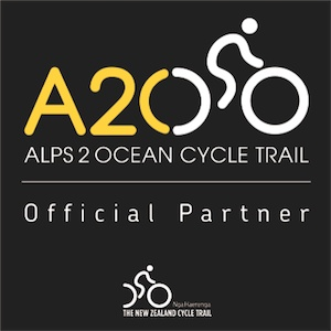 We are an Official Partner of the Alps 2 Ocean Cycle Trail